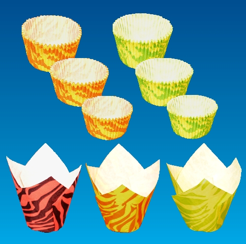 Backformen für Cupcakes und Muffins