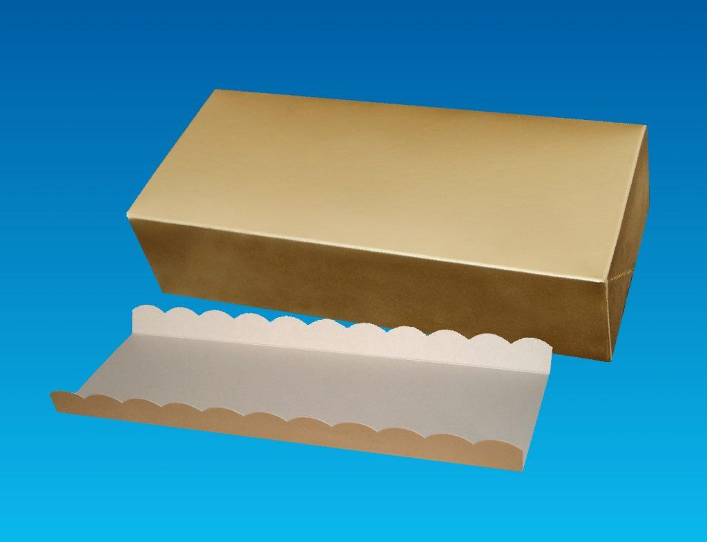 Stollenkartons und -tabletts
